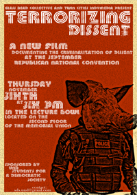 Poster for North Dakota Screening